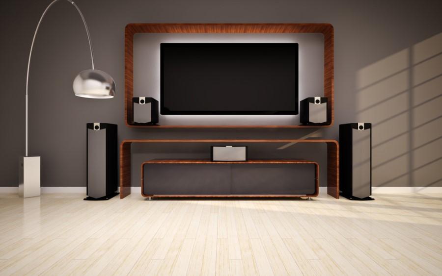 Domáce kino 5.1 v interiéri