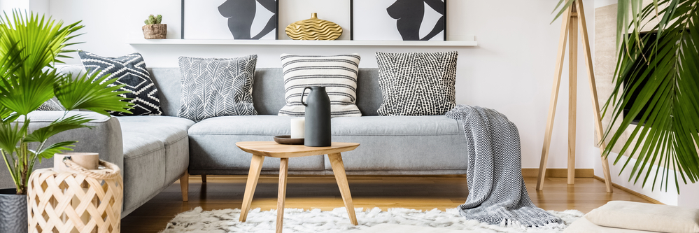 Hygge obývačka