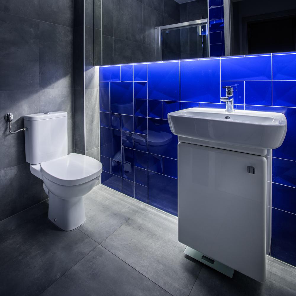 LED osvetlenie v kúpeľni