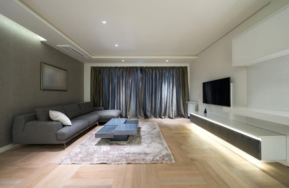 LED osvetlenie obývačky