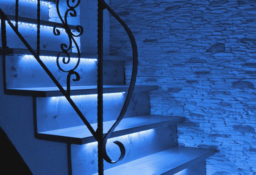 LED osvetlenie na schodisku