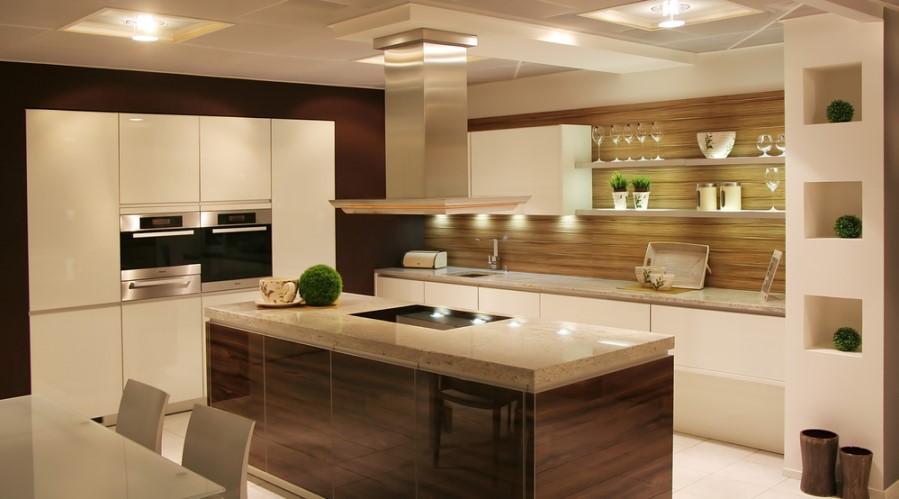 Správne osvetlená kuchynská linka