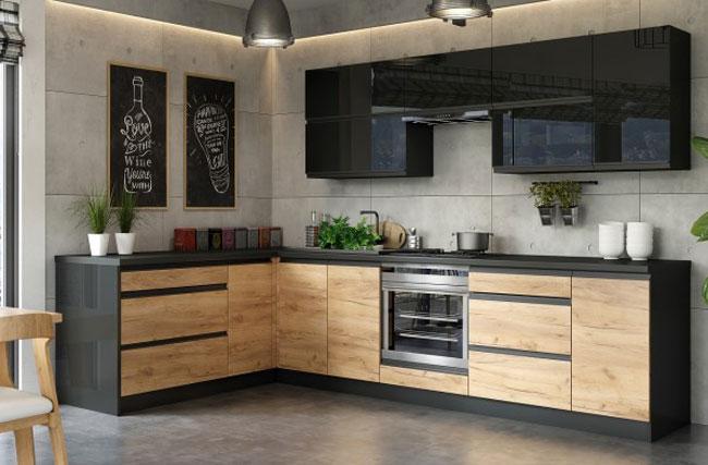 Rohová kuchyňa