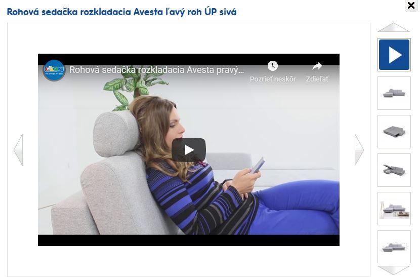 Video recenzia rohovej sedačky Avesta