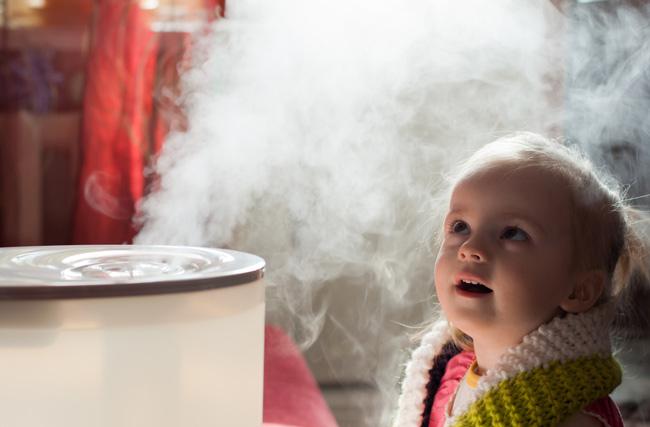 Zvlčovač vzduchu pre deti