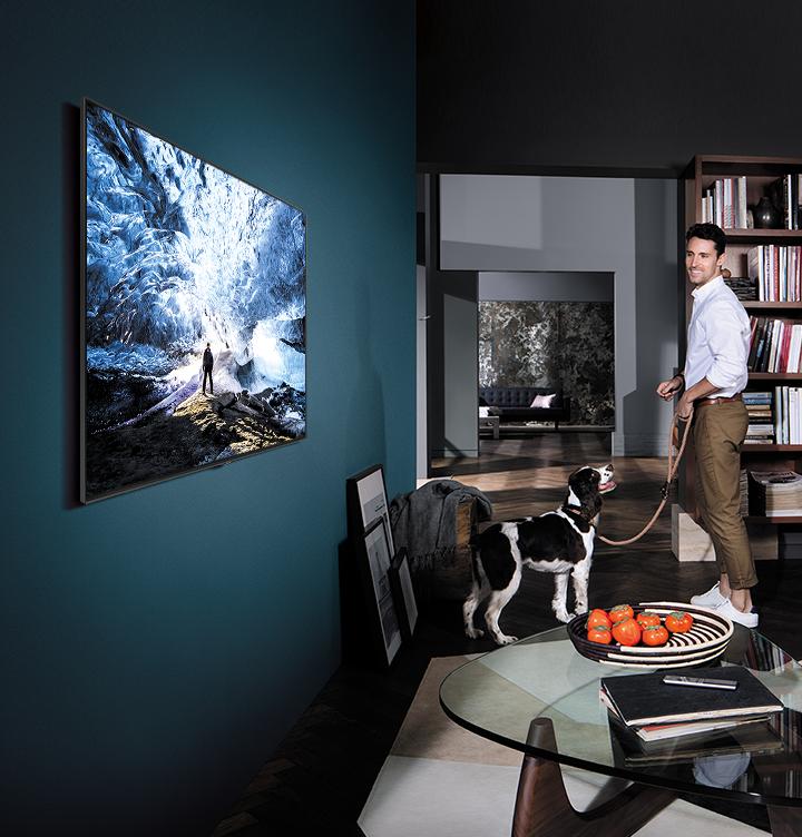 Časť vášho domova QLED TV