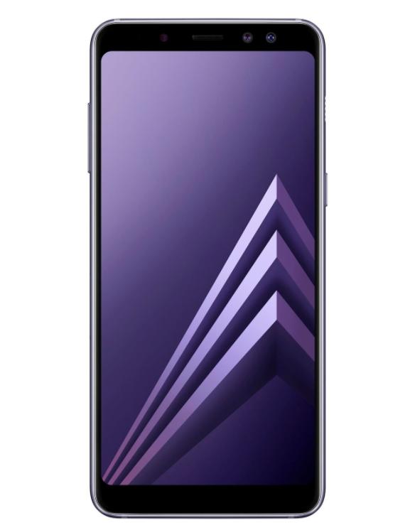 Galaxy A8 gray
