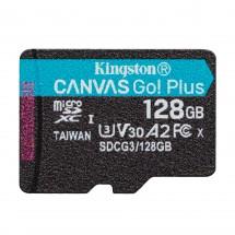 128 GB microSDXC Kingston Canvas Go! Plus A2 U3 V30 170 MB/s