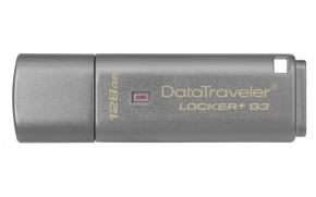 128 GB USB 3.0 DT Locker + G3 (vc. A. Data Security)