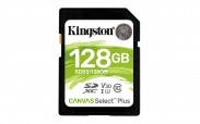 128GB SDXC Kingston Canvas Select Plus U1 V10 CL10 100MB/s