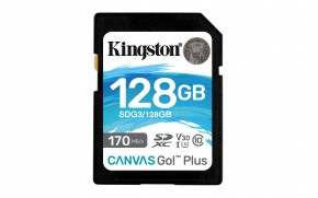 128GB SDXC Kingston U3 V30 170/90MB/s