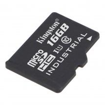 16 GB microSDHC Kingston UHS-I Industrial Temp + bez adaptéra