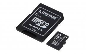 16GB microSDHC Kingston UHS-I Industrial