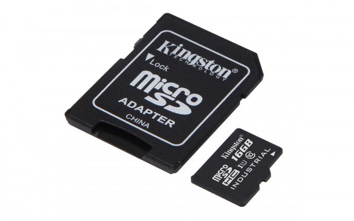 16GB microSDHC Kingston UHS-I Industrial