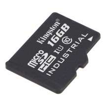 16GB microSDHC Kingston UHS-I Industrial Temp + bez adaptéru