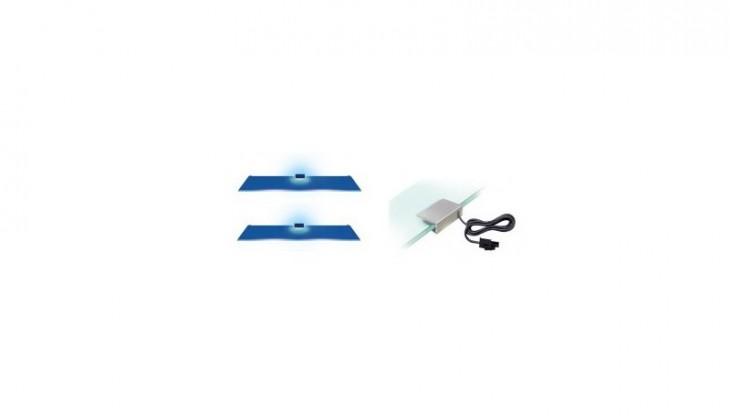 2 LED (modrá)