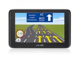 """2v1 Kamera+GPS Mio MiVue Drive 55, 5"""", 140°, 44 krajín, LM"""