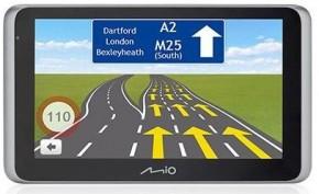 """2v1 Kamera + GPS MioVue Drive 65 6,2"""" pre veľké vozidlá, ZÁNOVNÉ"""