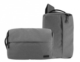2v1 Taška/batoh na fotoaparát TNB DC2IN1GR šedivá