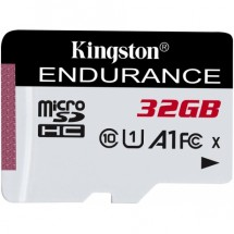32GB microSDHC Kingston Endurance CL10 A1 95R/45W