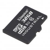 32GB microSDHC Kingston UHS-I Industrial Temp + bez adaptéru