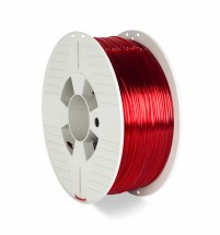 3D filament Verbatim, PET-G, 1,75 mm, 1000 g, 55054, transp. red