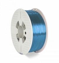 3D filament Verbatim, PET-G, 1,75 mm, 1000 g, 55056,transp. blue