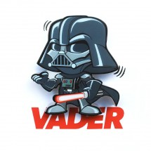 3D LIGHT FX svetlo 3D Mini EP7 - Darth Vader