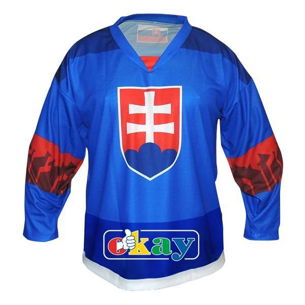 3D okuliare Hokej. dres SK,znak, modrý