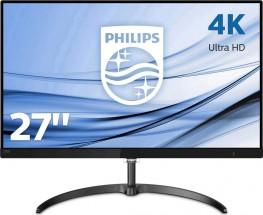 "4K monitor Philips 276E8VJSB, 27"", 5ms, 60 Hz, čierna"