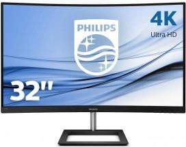 "4K monitor Philips 328E1CA, 31,5"", zakrivený, 4 ms, 75 Hz"