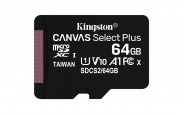 64GB microSDXC Kingston Canvas Select Plus  A1 CL10 100MB/s