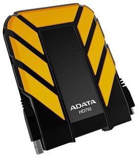 "A-DATAExt. HDD750GB2,5""USB3.0DashDriveDurableHD710,žlutý"