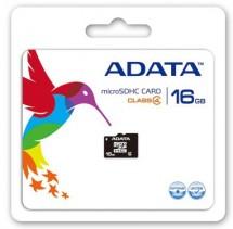 A-Data micro SDHC 16GB class 4 + adaptér
