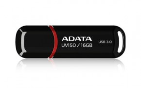 A-Data UV150 16GB, USB 3.0, čierný
