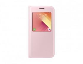 A5 (2017) Flipové pouzdro S View se stojánkem Pink