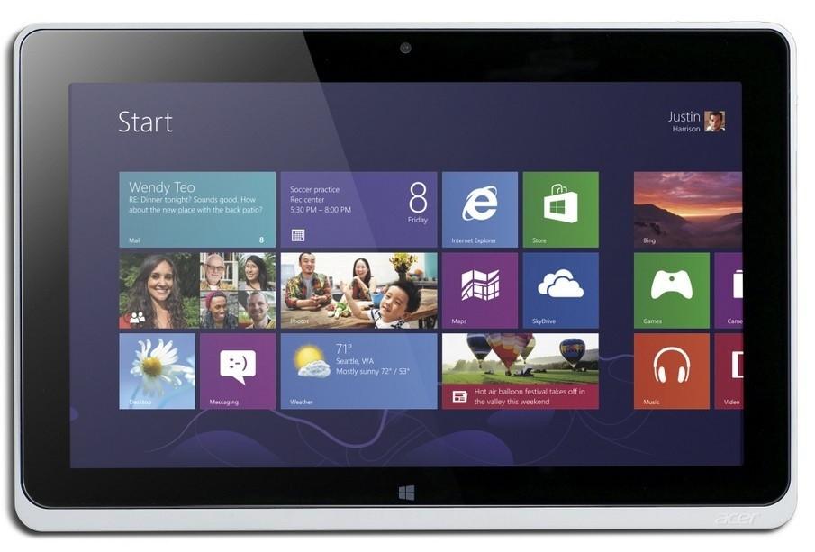 Acer Iconia Tab W510 (NT.L0KEC.003) stříbrný ROZBALENO