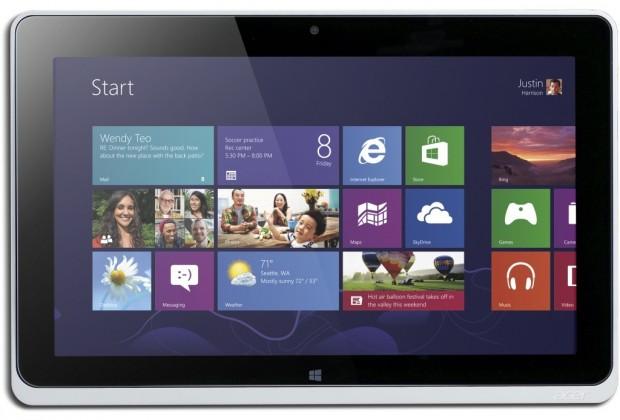 Acer Iconia Tab W510 (NT.L0MEC.001) strieborný