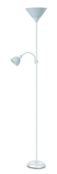 Action - Lampa, E27 (biela/biela)