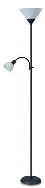 Action - Lampa, E27 (čierna/biela)