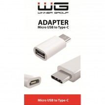 Adapt. Micro USB to Type C wh.
