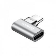 Adaptér Baseus USB Typ C na USB Typ C, zahnutý, magnetický