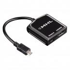 """Adapter microUSB / HDMI MHL Hama """