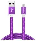 Adata AMUCAL-100CMK-CPU Micro USB, 1m, fialový