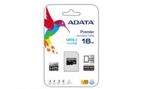 ADATA Micro SDHC Premier 16GB AUSDH16GUICL10-R