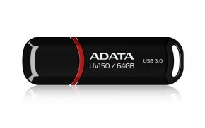 ADATA USB UV150 64GB black (USB 3.0)