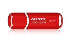 ADATA USB UV150 64GB red (USB 3.0)