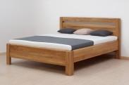 Adriana - posteľ, buk jadrový, 200x180 cm (masív buk)