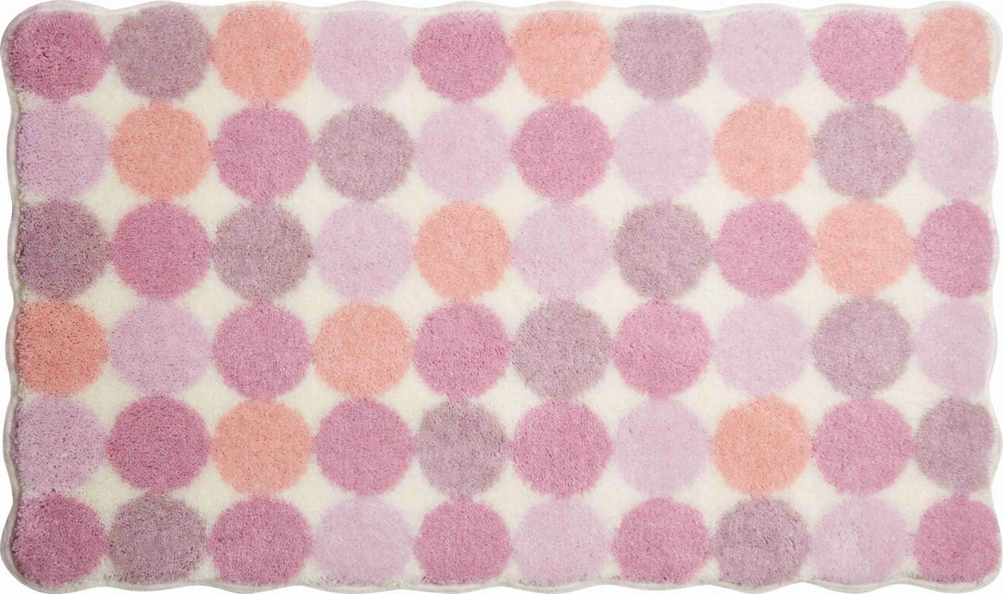 Agarthi - Kúpeľňová predložka 70x120 cm (růžová)
