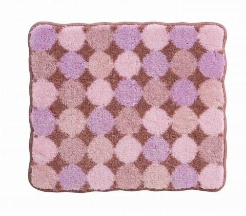 Agarthi - Kúpeľňová predložka malá 50x60 cm (broskyňová-ružová)